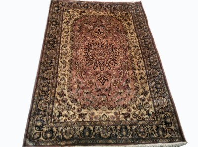 CARPET BAZAAR Red Polypropylene Carpet