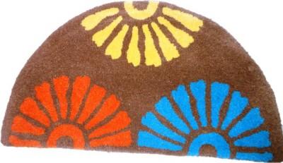 Gharsansaar Multicolor Wool Carpet