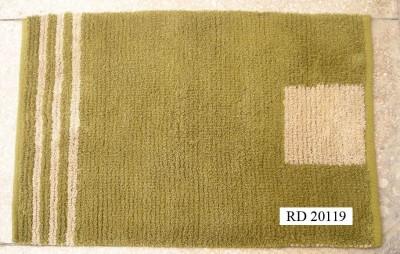 RACHNA DESIGNS Green Cotton Dhurrie