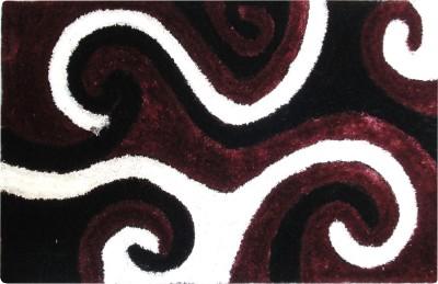 Majesty Maroon Polyester Carpet