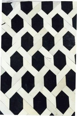 Maine Haiten Black, White Wool Carpet