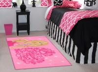Status Pink PVC Area Rug(91 cm  X 152 cm)