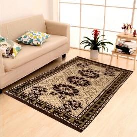 Naini Home Multicolor Velvet Carpet(150 cm X 210 cm)