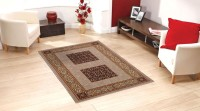 Status Multicolor Wool Area Rug(122 cm  X 183 cm)