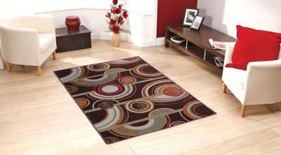 Status Multicolor Polyester Carpet(91 cm  X 152 cm)