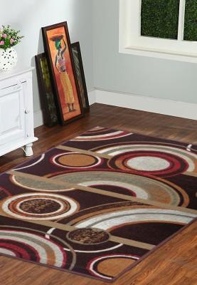 Status Brown Nylon Carpet(91 cm  X 152 cm)