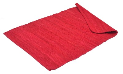 JBG Home Store Red Cotton Area Rug