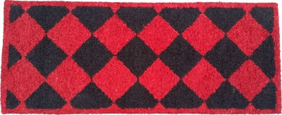 Amit Carpet Red, Maroon, Black Polyester Runner