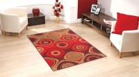 Status Multicolor Wool Area Rug(121 cm  X 182 cm)