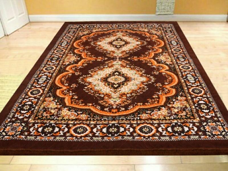 MR MACHROLI Multicolor Jute Carpet(154 cm X 214 cm)