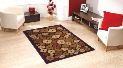 Status Multicolor Polyester Carpet(152 cm  X 213 cm)