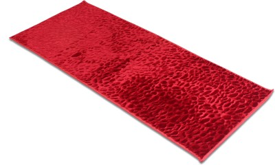 Galaxy Home Furnishing Red Velvet Area Rug