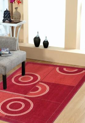 Status Multicolor Wool Area Rug(121 cm  X 182 cm)