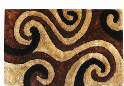 Majesty Brown Polyester Carpet