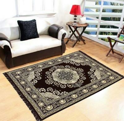 Gopal home furnishing Multicolor Chenille Carpet