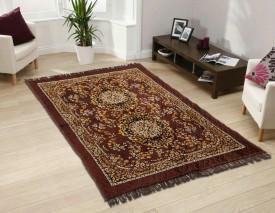 HEENA Brown Jute Carpet(154 cm X 214 cm)