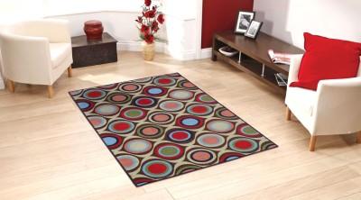 Status Multicolor Nylon Carpet(152 cm  X 213 cm)