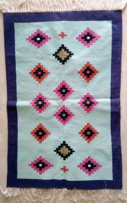 Vandna Wellspring Multicolor Cotton Dhurrie