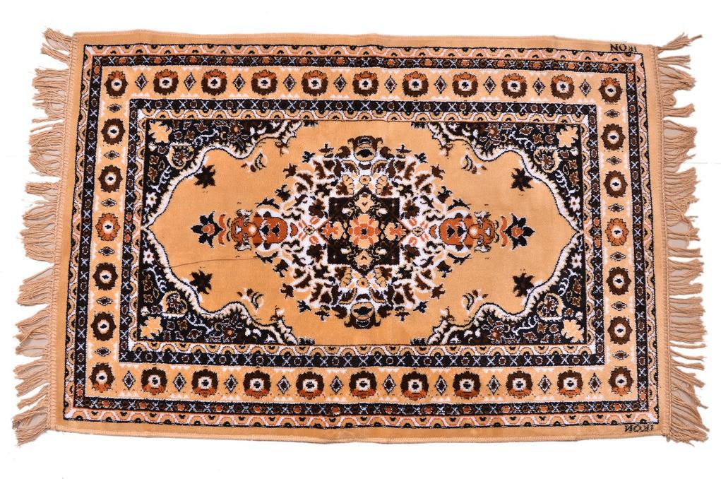 Floor Fashion Beige Cotton Carpet