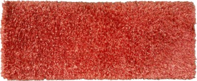 Amit Carpet Red, Maroon, Orange Polyester Runner