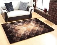 Excel Bazaar Beige Polyester Carpet(90 cm  X 150 cm)