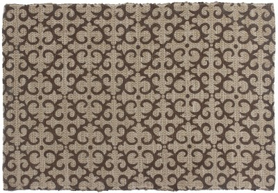 Indiesouq Brown Jute Area Rug
