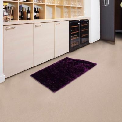 Sawariya Decor Purple Polyester Carpet