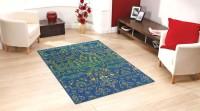 Status Green Nylon Carpet(152 cm  X 213 cm)