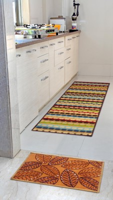 Status Multicolor Nylon Carpet(55 cm  X 139 cm)