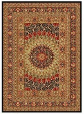 Apsara Gold, Black Silk Carpet