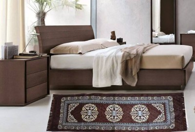 JBG Home Store Brown Velvet Area Rug
