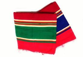 Cotton Colors Multicolor Cotton Carpet(86.36 cm X 198.12 cm)
