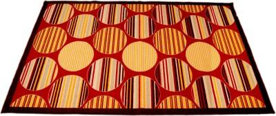 Ritika Carpets Multicolor Polyester Area Rug