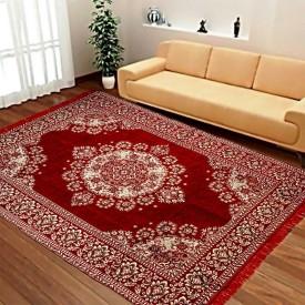 Achintya Multicolor Velvet Carpet(152 cm X 213 cm)