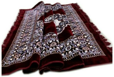 MR MACHROLI Maroon Blended Carpet