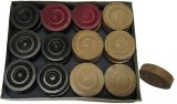 Sportson WOOD1 Carrom Pawns (Pack of 24)