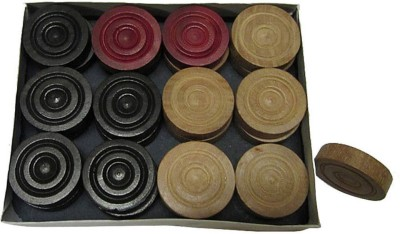 Sportson WOOD1 Carrom Pawns