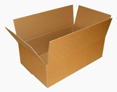 ZIFFYPACK Corrugated Craft Paper, Cardboard Storage, Shipment Packaging Box