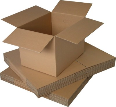 Hitech Packers Corrugated Craft Paper Packaging Box