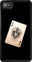 Snapdilla Back Cover for BlackBerry Z10(Funky Crazy Vintage Playing Card Modern Deck Black Color Back Cover)