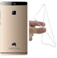 SPACE CASE Back Cover for MICROMAX CANVAS 6 E485(Transparent)