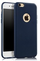 Premsons Back Cover for iPhone 6/6S Juice Series Matte Soft Silicone TPU Back Cover Case (Navy Blue)((Navy Blue))