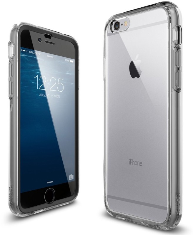 BrewingQ Back Cover for Apple iPhone 6S Plus(Transparent)