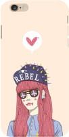 Fuson Back Cover for Apple iPhone 6(Rebel Love Girl) best price on Flipkart @ Rs. 378