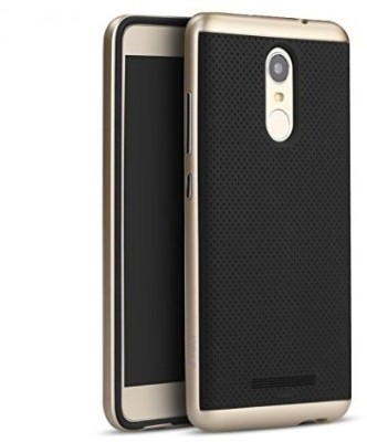 ipaky Back Cover for xiaomi redmi note 3(Gold)