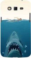 Fuson Back Cover for SAMSUNG Galaxy Grand 2, Samsung Galaxy Grand 2 G7105, Samsung Galaxy Grand 2 G7102, Samsung Galaxy Grand Ii(Underwater Shark Open