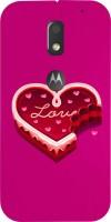 Dot Print Back Cover for Motorola Moto E3(Pink, Red) best price on Flipkart @ Rs. 399