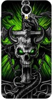 Pikway Back Cover for Micromax Canvas Mega Q417(Multicolor)