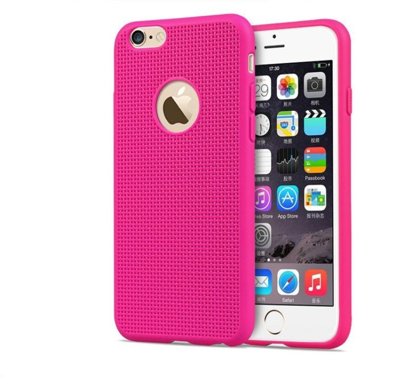 KartV Back Cover for Apple iPhone 6S Plus(Hot Pink)