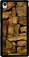 Snapdilla Back Cover for Sony Xperia M4 Aqua, Sony Xperia M4 Aqua Dual(Different Creative Stone Pattern Rock Wall Art Ancient Fort Back Cover)